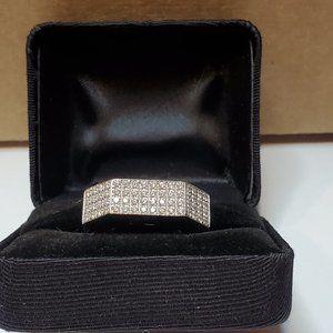 10K White Gold 1.20 cttw Diamond Ring